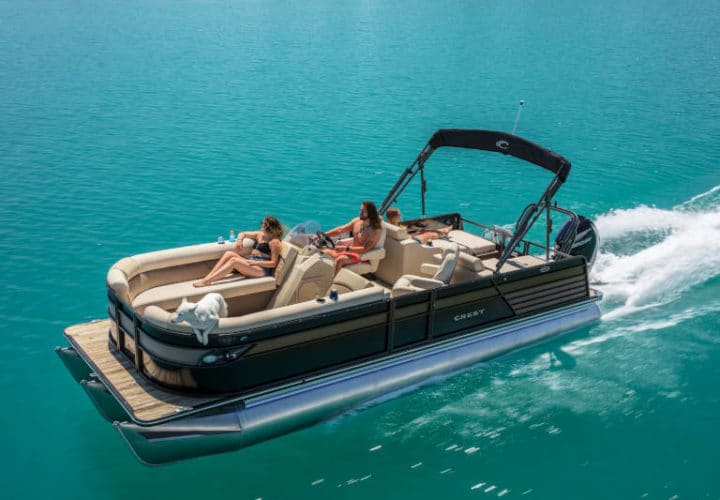 Pontoon Boat Rentals - Gun Lake